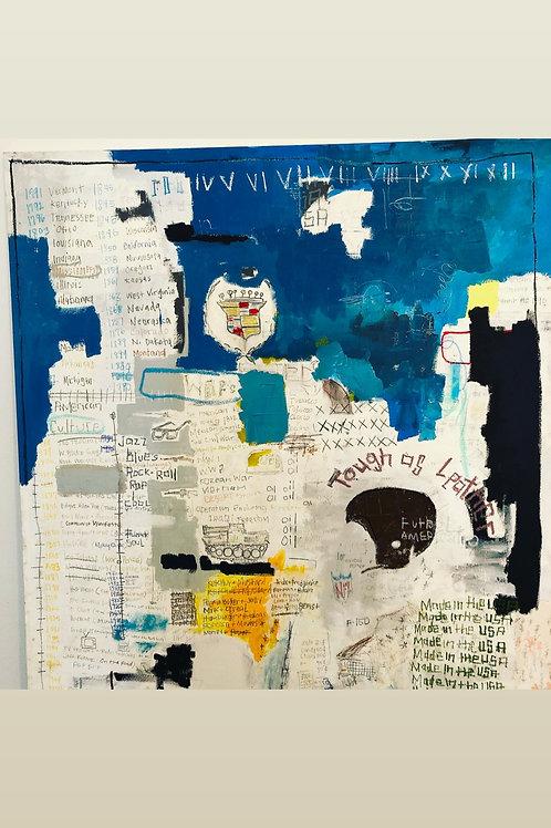 Americana 53x49 (canvas)