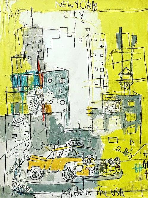 City (paper) 11x14