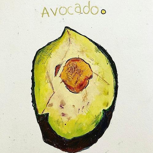Avocado 5x7 (paper)