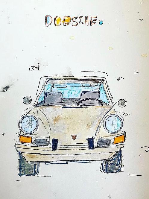 Porsche Beige 16x12