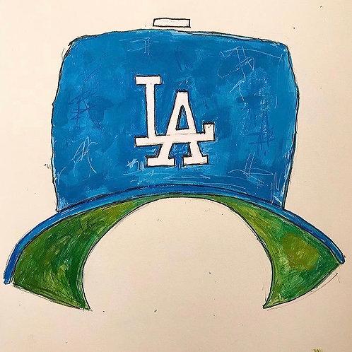 LA  Hat 8x10