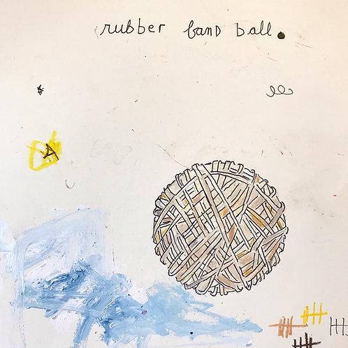 Rubber band ball 8x10