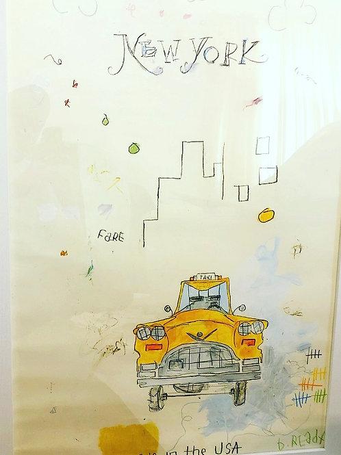 Taxi (paper) 36x24