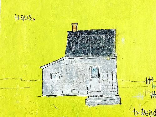 Haus (paper) 8x10