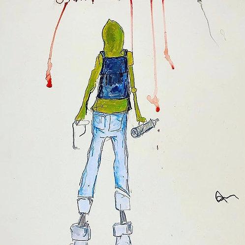 Graff (paper) 16x20