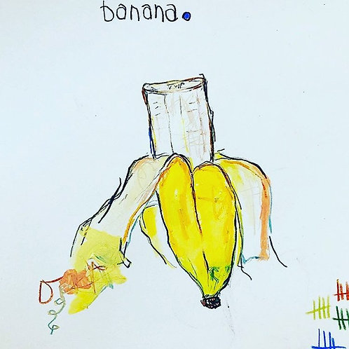 Banana 8x10 paper