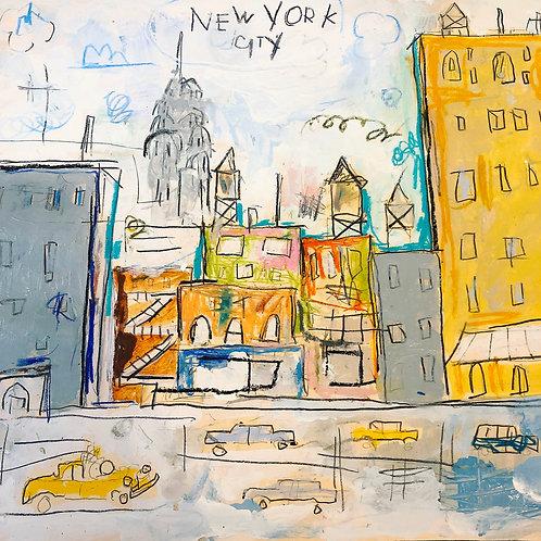 City 11x14 paper