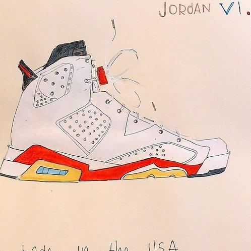 Jordan 6's 16x12