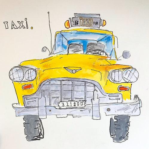 TaxiYellow