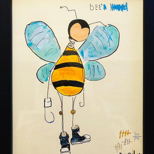 Bee (paper) 11x14