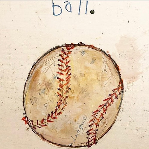 Ball 8x10 paper