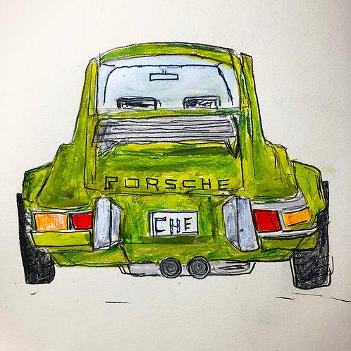 Porsche 8x10 paper