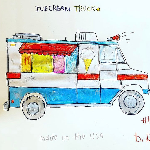 Icecream Truck 16x20