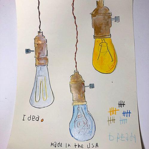Lights 8x10 paper