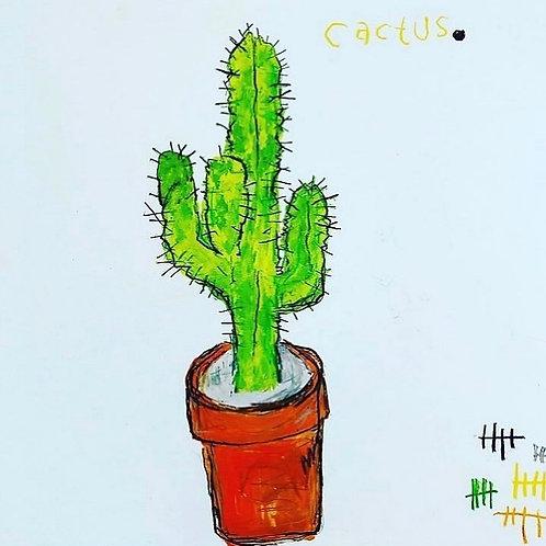 Cactus 11x14