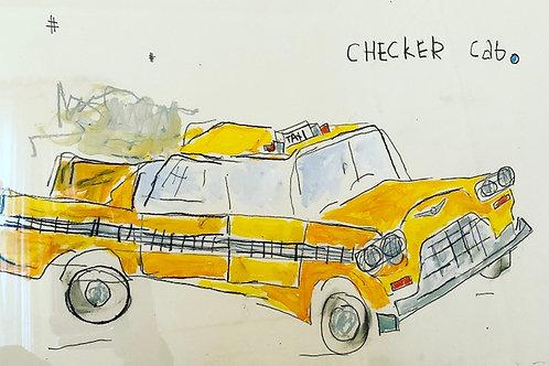 Taxi  (paper) 16x20
