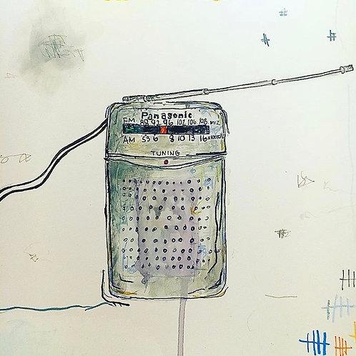 Radio (paper) 8x10