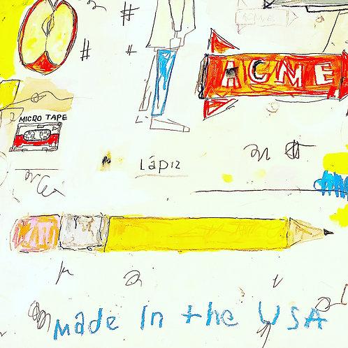 Big Pencil (paper) 36x24
