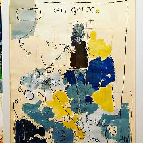En Garde (paper) 36x24