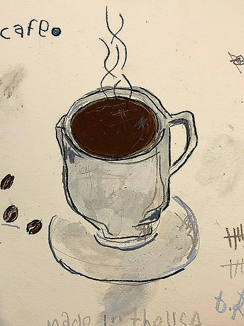 Cafe (paper) 8x10