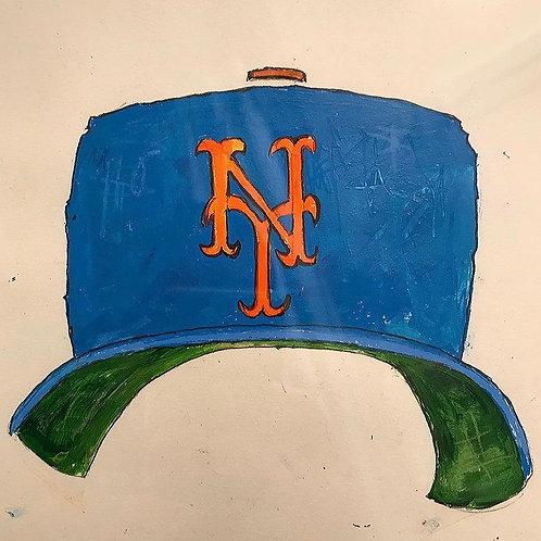 Mets hat 8x10