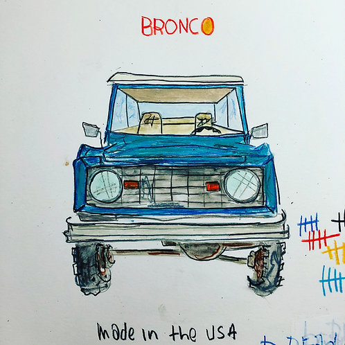 Bronco 8x10 paper