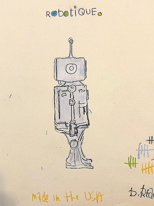 Robotique  (paper) 8x10