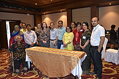 Delegates at the inter-country workshop
