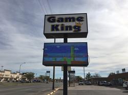 Game King Sign