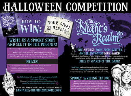 The Night's Realm Halloween Competition!