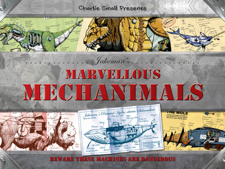 Jakemans' Marvellous Mechanimals!