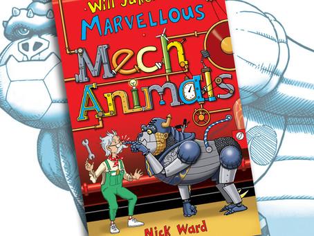 Will Jakeman's Marvellous Mechanimals are on the loose!
