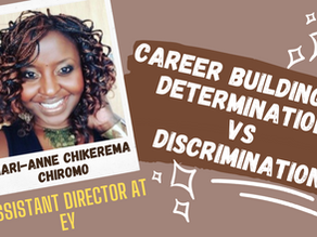 [Career Building 101] Determination vs Discrimination with MAC, Assistant Director at EY