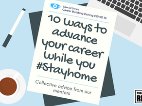 10 Ways to Advance Your Career While You #StayHome