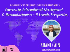 【EP5】Careers in International Development & Humanitarianism - A Female Perspective with Shani Cain