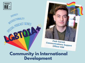 LGBTQ+ Community in International Development - with Zaak Garrett