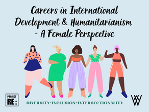 【Special D&I Series】Careers in International Development & Humanitarianism - A Female Perspective