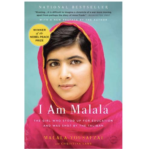 I Am Malala by Malala Yousafzai and Christina Lamb