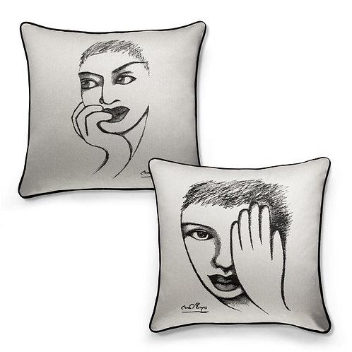 Carrol Boyes 2 Piece Cushion Cover- Eye For Detail