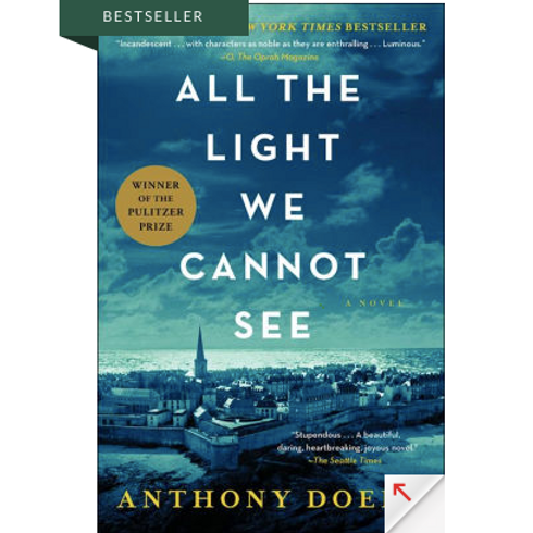 All the Light We Cannot See by Anothony Doerr