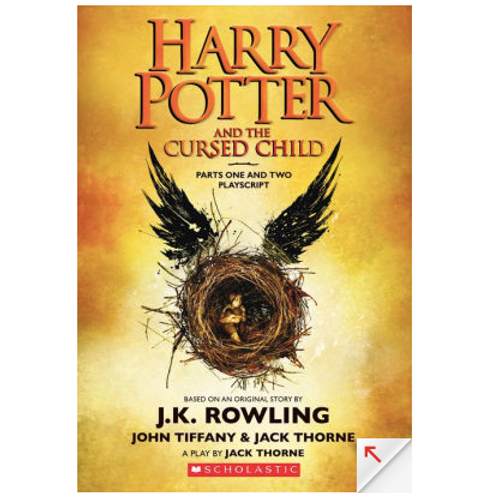 Harry Potter and the Cursed Child by J.K Rowling (Harry Potter #8)