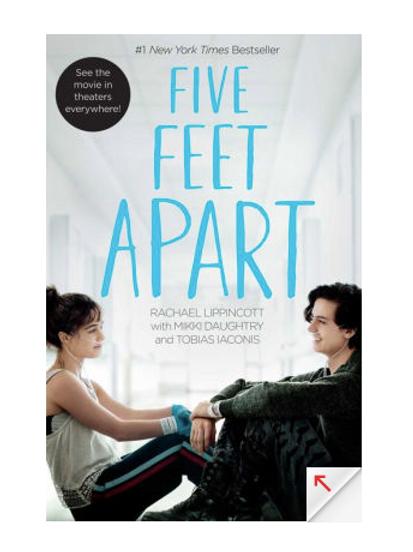 Five Feet Apart by Rachel Lippincott
