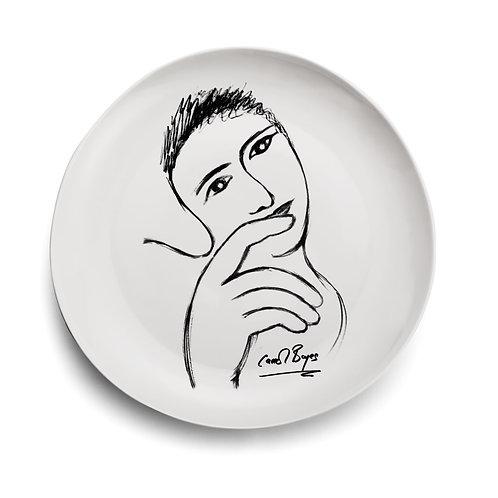Carrol Boyes Set of 10 Sketchbook Dinner Plate, 29cm
