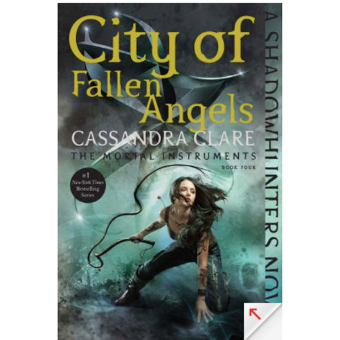 City of Fallen Angles by Cassandra Clare (Mortal Instruments #4)