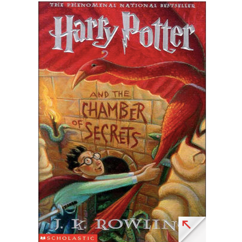 Harry Potter and the Chamber of Secrets by J.K Rowling (Harry Potter #2)
