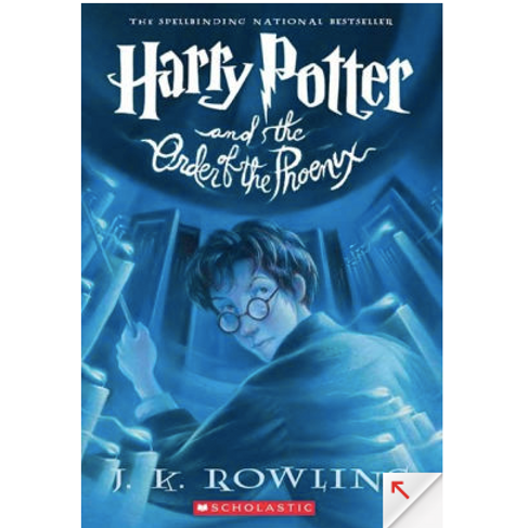 Harry Potter and the Order of the Phoenix by J.K Rowling (Harry Potter #5)