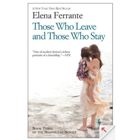 Those Who Leave and Those Who Stay by Elena Ferrante (Neapolitan Novels #3)