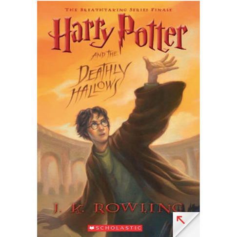 Harry Potter and the Deathly Hallows by J.K Rowling (Harry Potter #7)