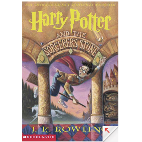 Harry Potter and the Sorcere's Stone by J.K Rowling (Harry Potter #1)