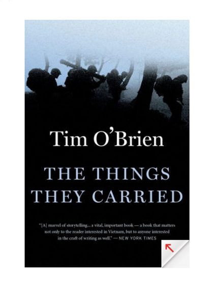 Things They Carried by Tim O'Brien